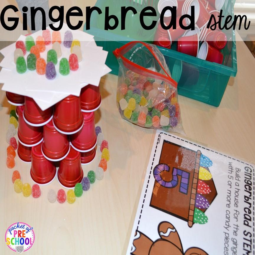 gingerbread activities preschool gingerbread centers and activities for gingerbread week 896