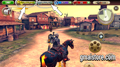 Download Six Guns Gang Showdown MOD APK terbaru