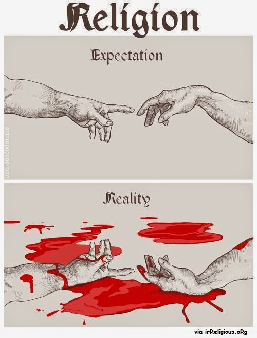 Religion Expectation vs Reality Meme Picture