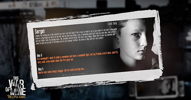 لعبة This war of mine: the little ones