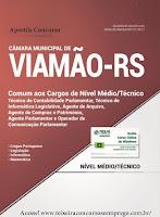 Apostila Câmara de Viamão - RS Cargos de Nível Médio.