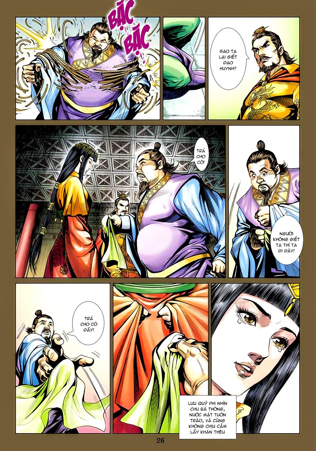 Anh Hùng Xạ Điêu anh hùng xạ đêu chap 77: thế thượng tối cường võ công trang 26