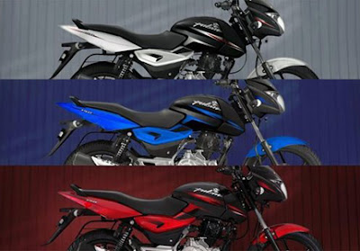 New Bajaj Pulsar 150 three colours HD Photo gallery