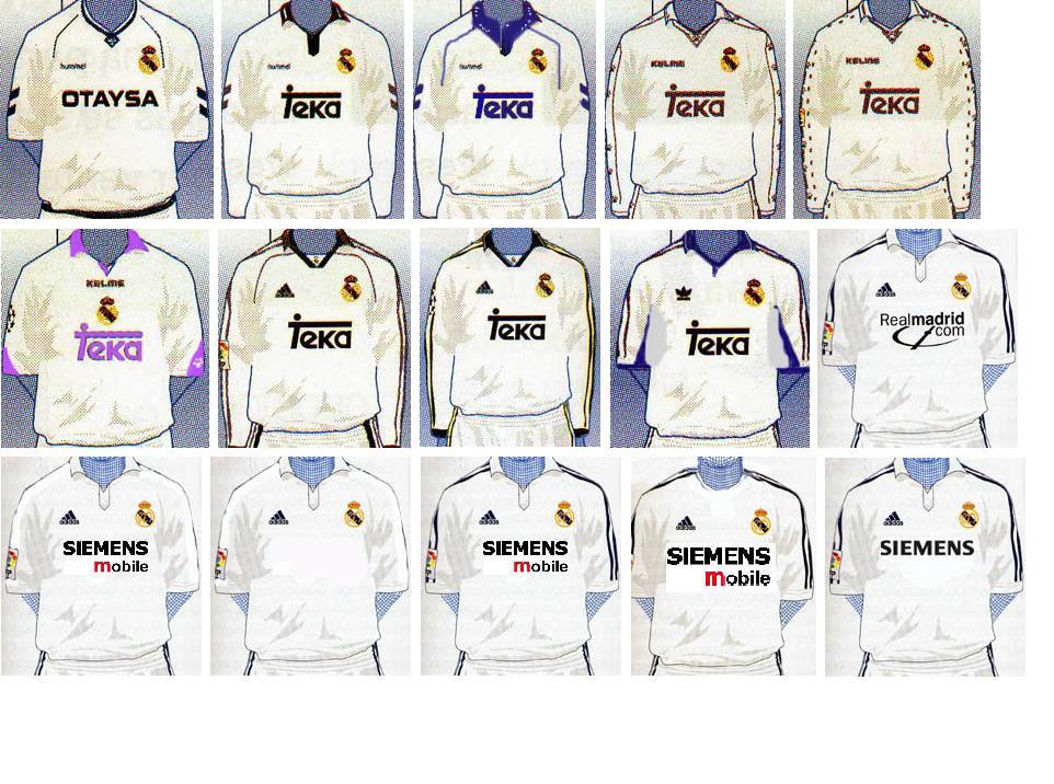 Revive los 10 últimos diseños que ha tenido la vestimenta de uno de los  mejores equipos del mundo. 2691969d53ce0