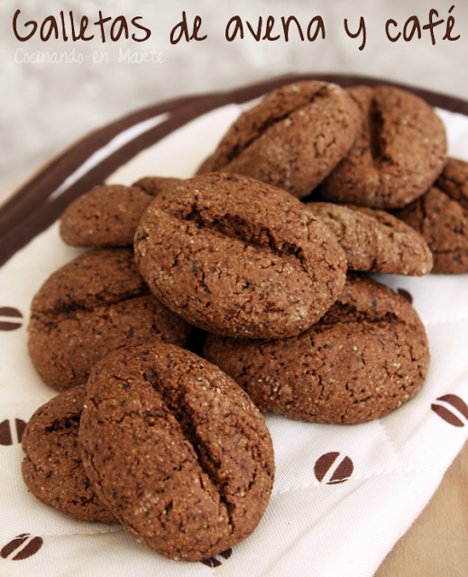Galletas de avena y café {Coffee oat cookies}