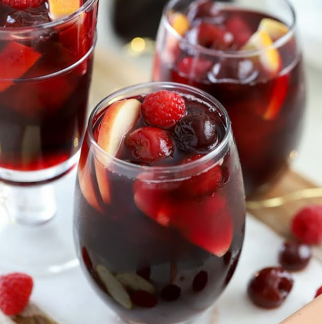 Red Wine Sangria #cocktail #sangria