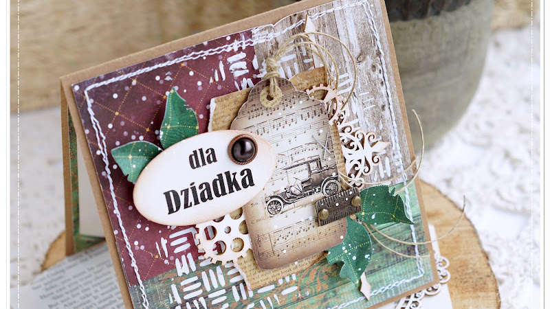 Card For a Man & Video / Kartka Dla Dziadka i Filmik