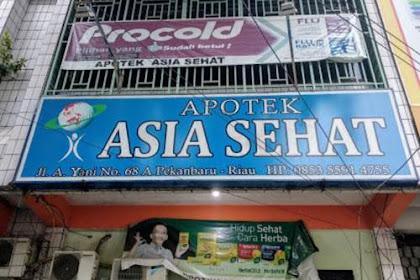 Lowongan Apotek Asia Sehat Pekanbaru Desember 2018