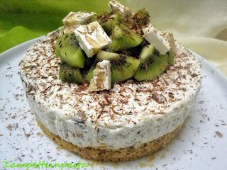 Cheesecake al torrone - Ricetta con il torrone