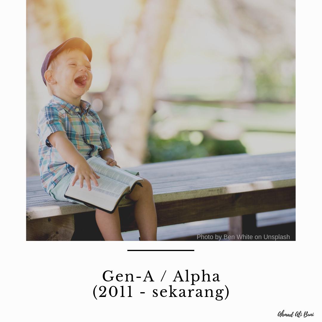 generasi a (alpha)