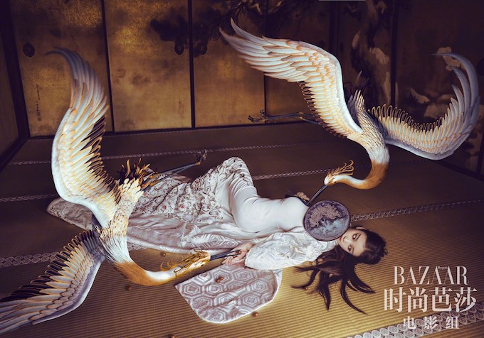 Ni Ni, NiNi, Ni Ni, Ni Ni Harpers Bazaar, Ni Ni 2018, 倪妮, Ni Ni The Rise of the Phoenixes