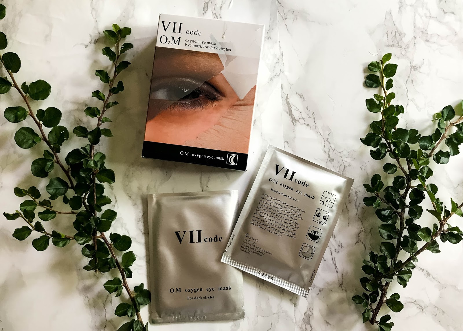 How to Get Rid of Dark Circles - VIIcode Oxygen Eye Mask