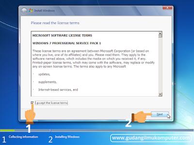 Cara Instal Ulang Windows 7 Lengkap Dengan Gambar