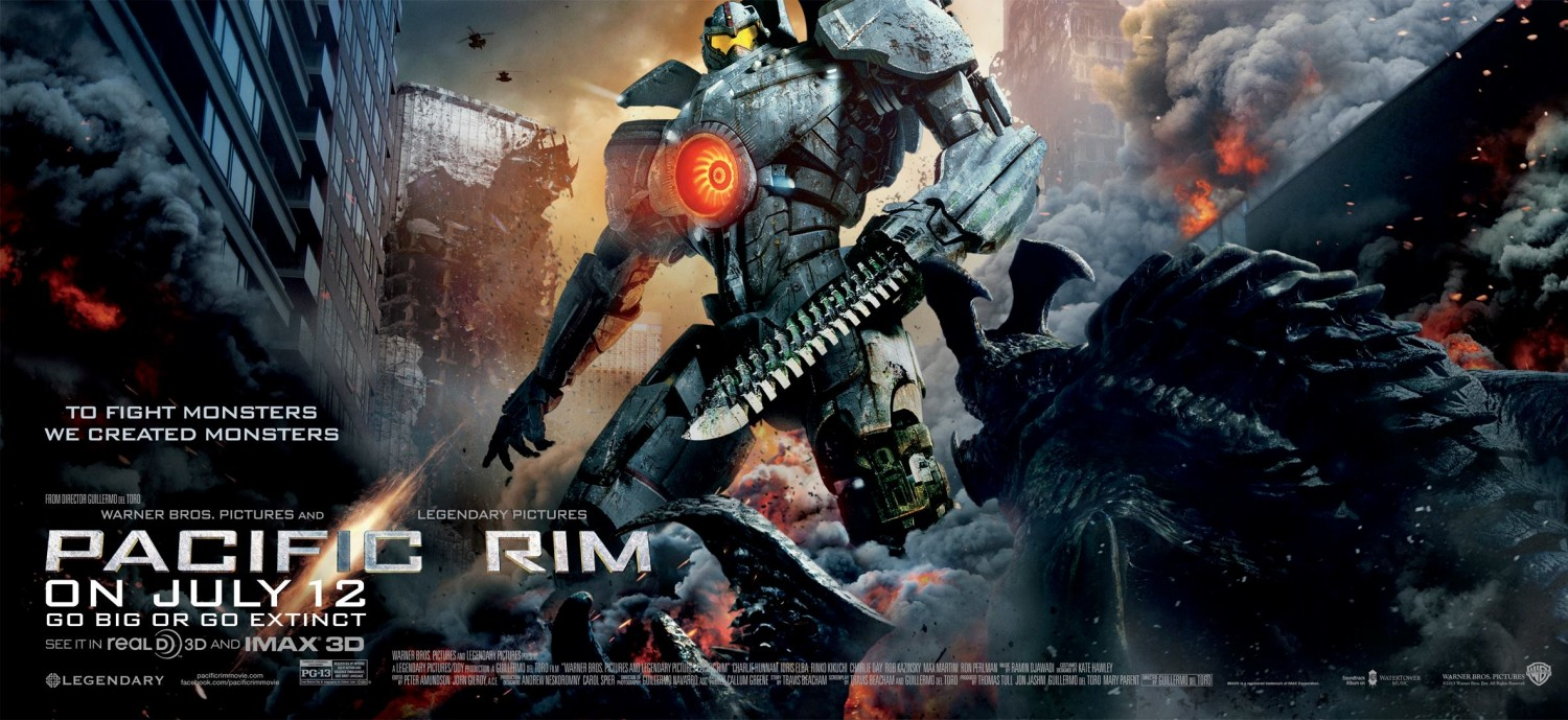 The Geeky Nerfherder Movie Poster Art Pacific Rim 2013