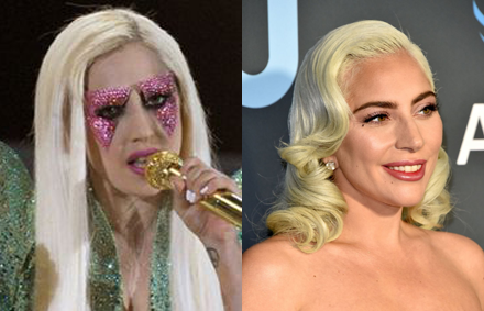 10 year challenge lady gaga