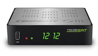ATUALIZAÇÃO TOCOMSAT COMBATE S3  V1.03 - 14/09/2018