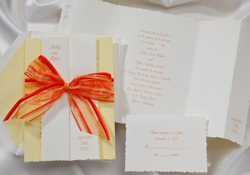Ribbon Wedding Invitations: Occasions To Blog: 2013 Wedding Invitation Trends