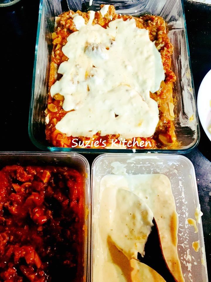 suzie 39 s kitchen homemade lasagna