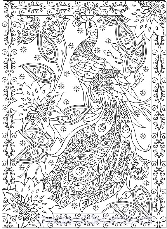free fall coloring pages difficult - photo#9