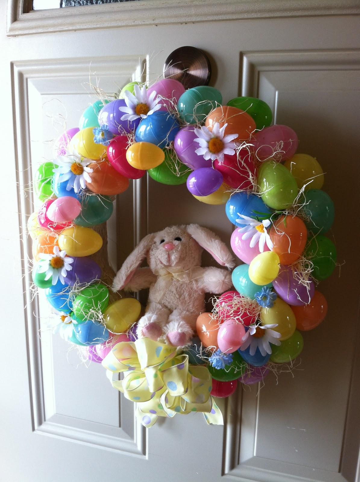 Natural Homemade Living: DIY Easter Wreath