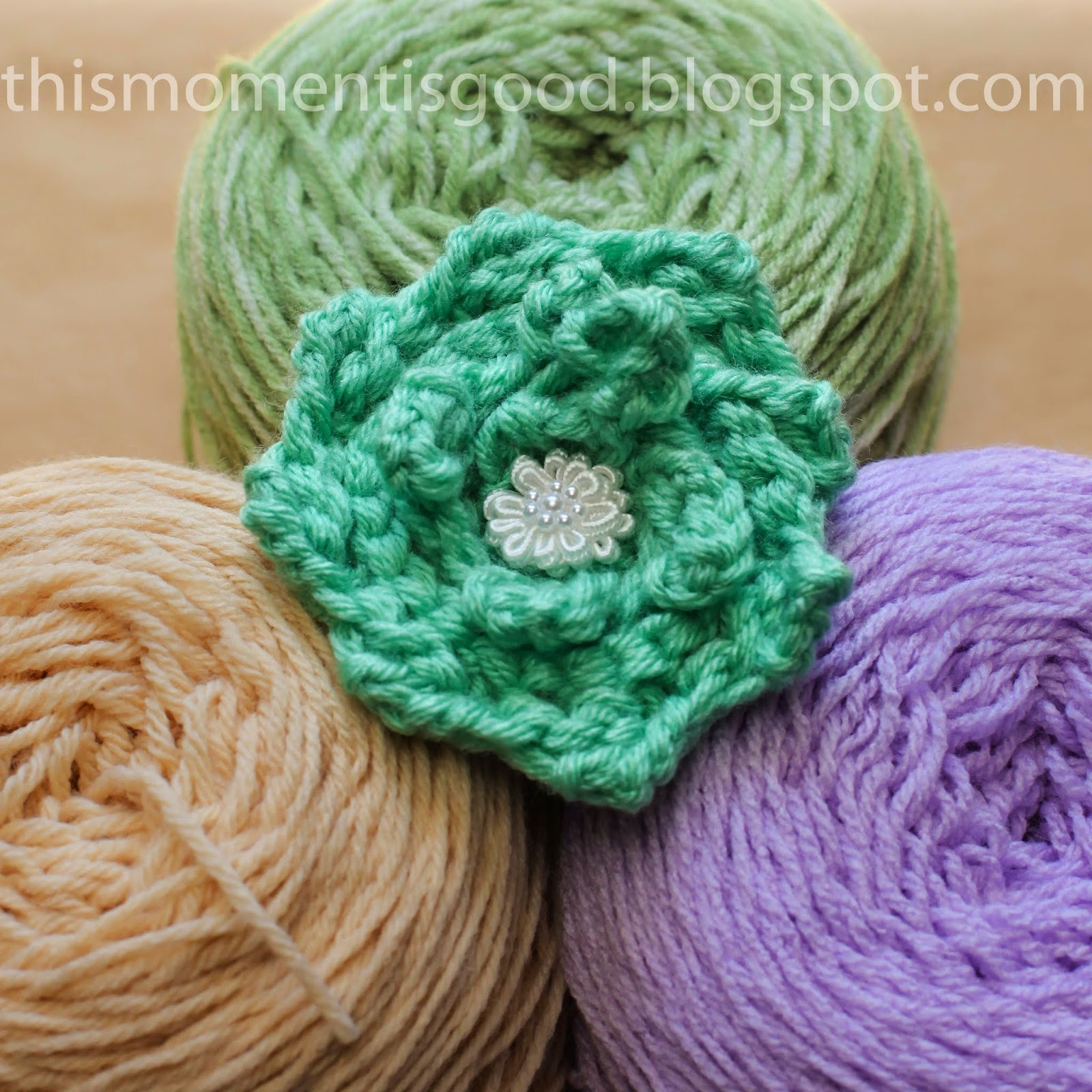 Loom Knitting Stitches Instructions : Loom Knitting by This Moment is Good!: LOOM KNIT ROSE PATTERN