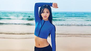 Tzuyu, TWICE, K-Pop, Girl, Swimsuit, 4K, #6.866
