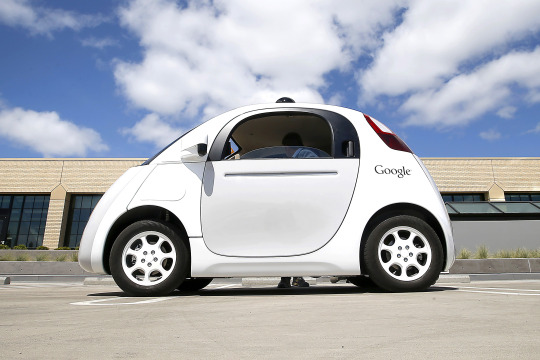 image of self driving car from google