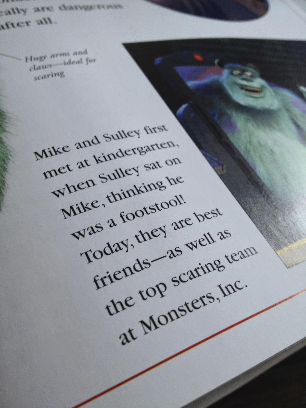 Dan the Pixar Fan: Monsters Inc: The Essential Guide
