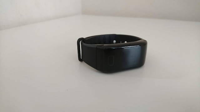 FourFit Health Band Review on Us Two Plus You - The band itself
