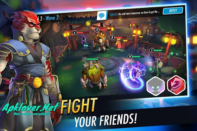 Heroes of Rings MOD APK unlimited skill