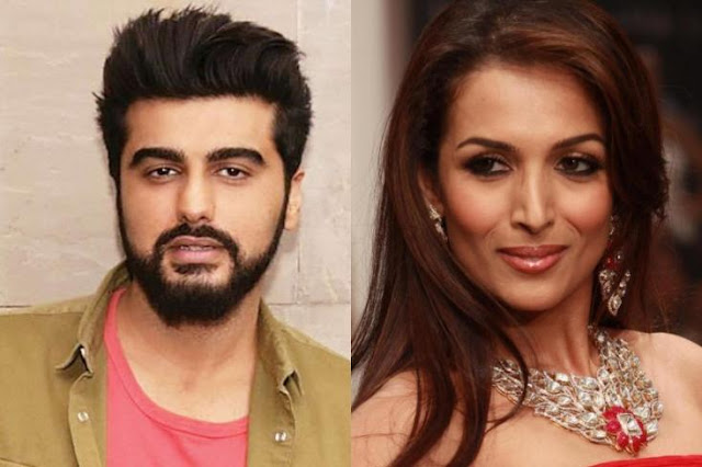 Malaika Arora & Arjun Kapoor Pose Together At Party