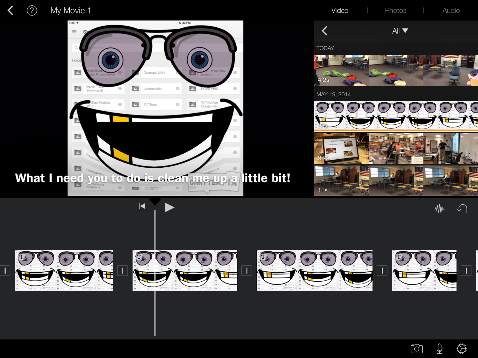 iPaddiction: iMovie On iPad - Adding Subtitles