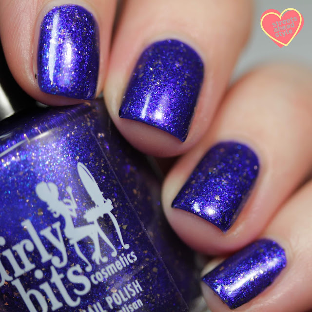 Girly Bits Say Hello 2 Heaven swatch by Streets Ahead Style