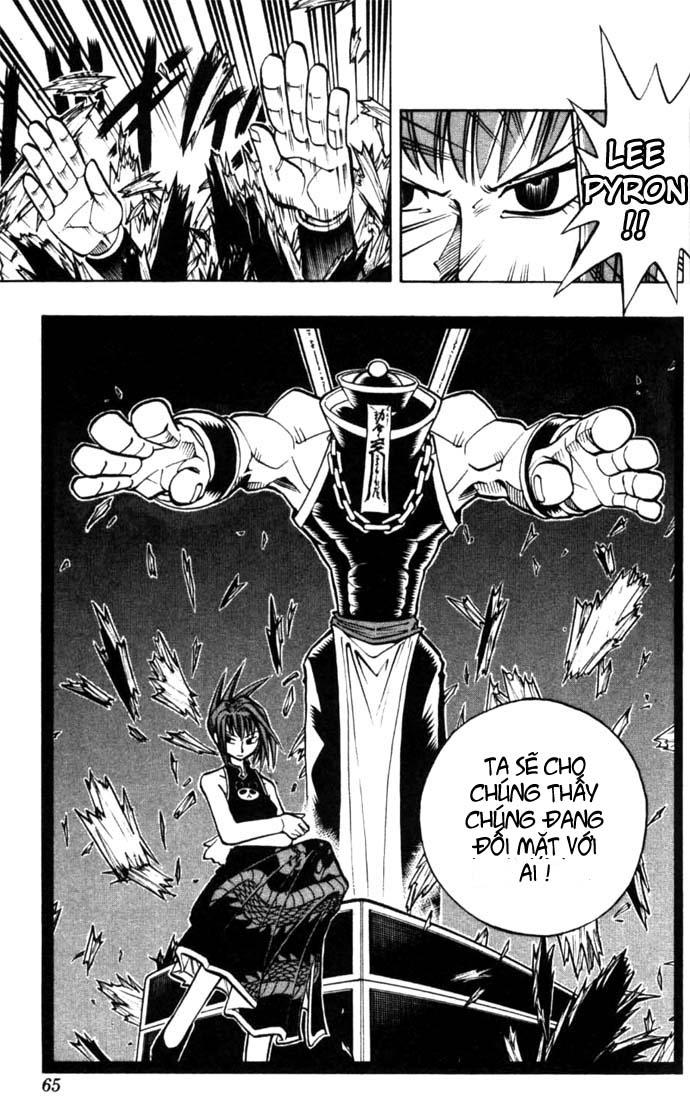 Shaman King [Vua pháp thuật] chap 11 trang 21