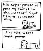 I, me, myself...: Superpowers...