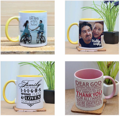 Printcious Personalized Your Own Color Mugs