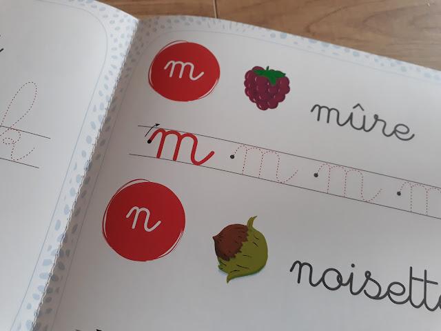 Pédagogie Montessori lettres rugueuses
