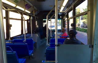 MATA bus interior