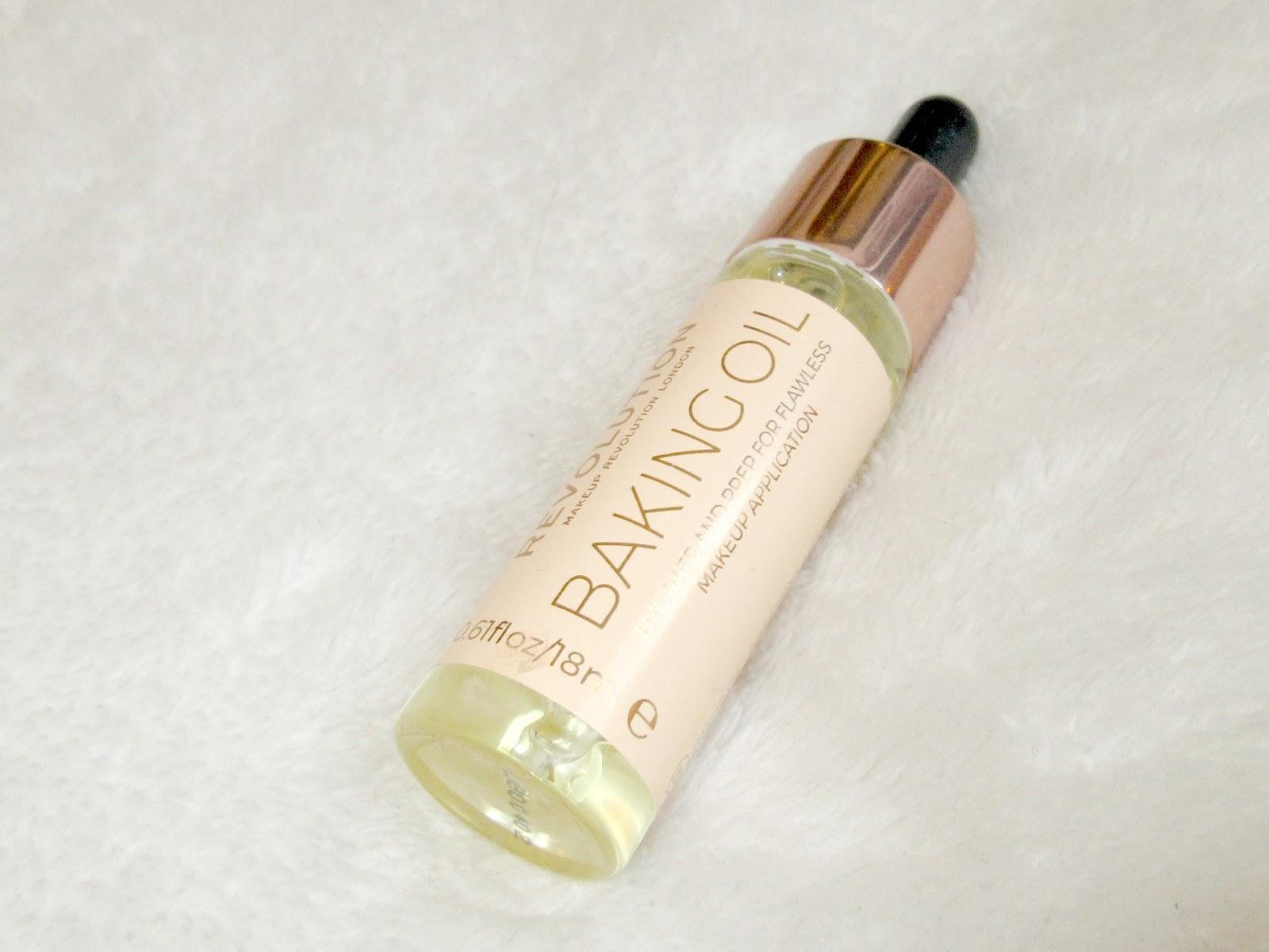 Makeup revolution baking oil