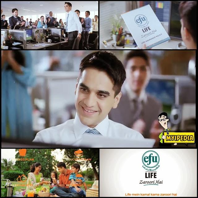 EFU Life Assurance TVC 2013 Life Main Kamal Kerna Zarori