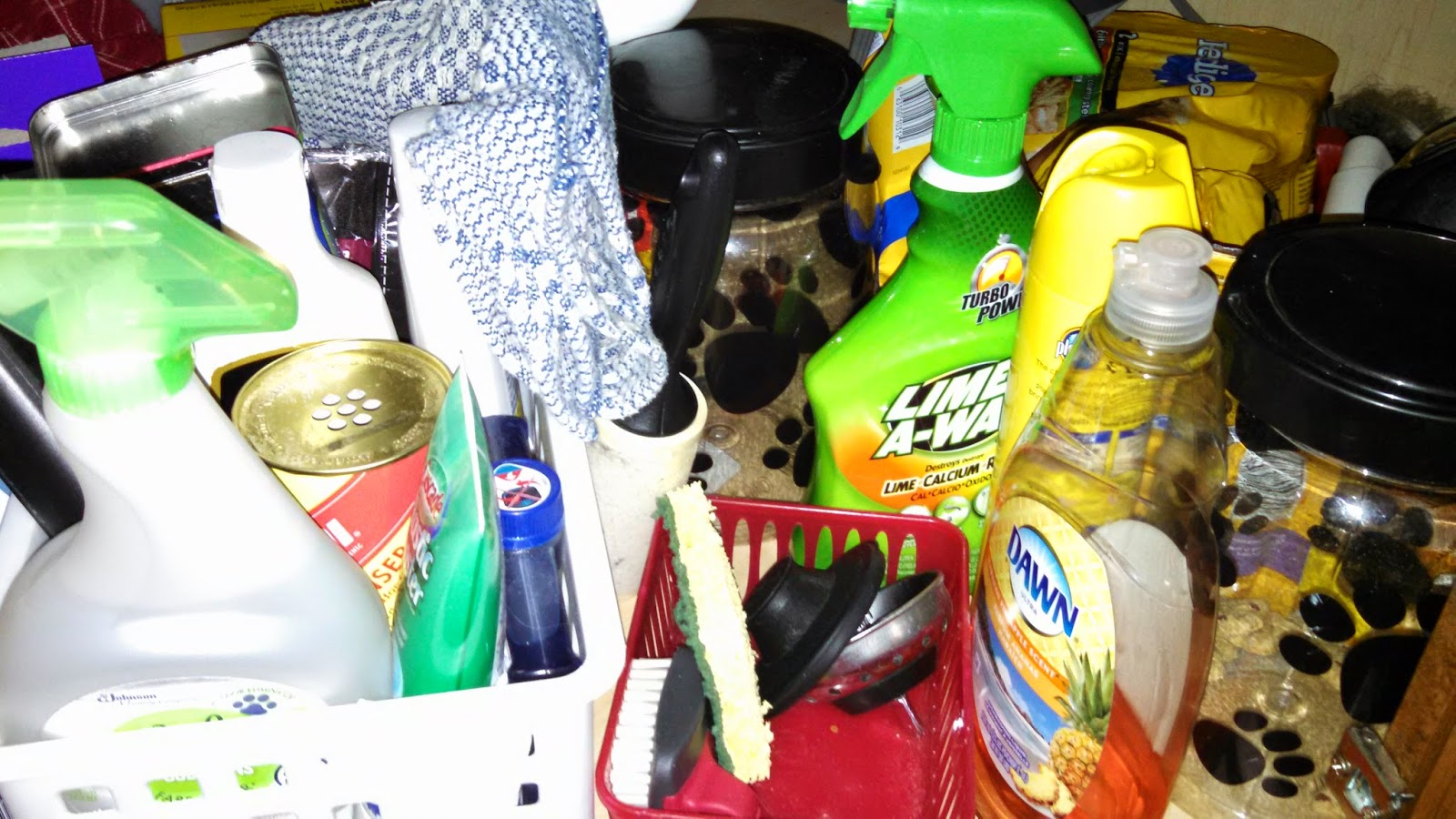 You'll use lots of cleaning supplies as you show and sell your house