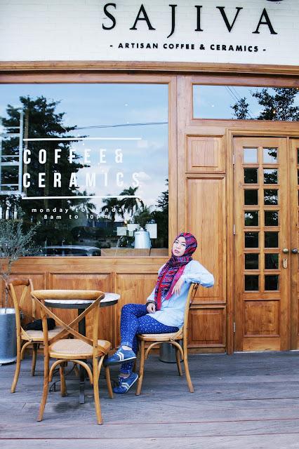 Tempat Ngopi Yang Instagramable di Tangerang, Sajiva Coffee & Ceramics