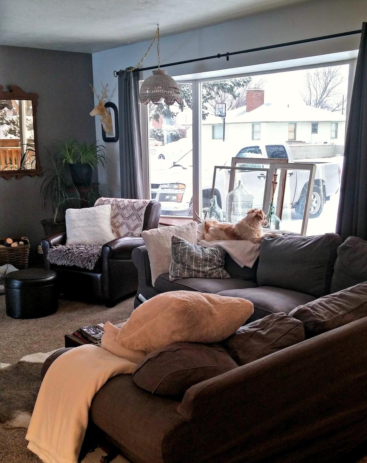 living room refresh - little vintage cottage