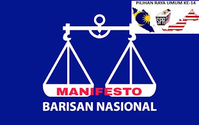 Senarai Manifesto Barisan Nasional (BN) PRU 14