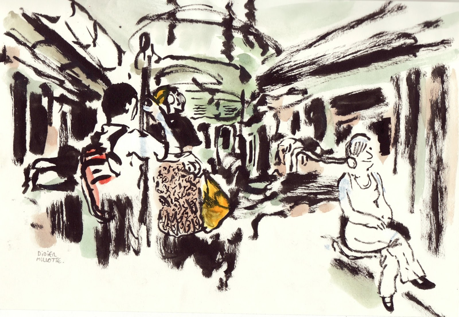 Rencontre metro ligne 6
