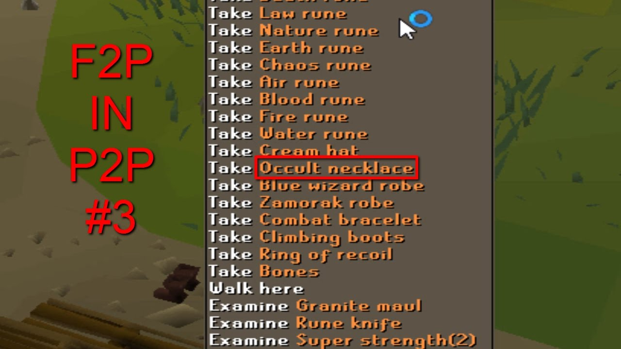 how to knife osrs