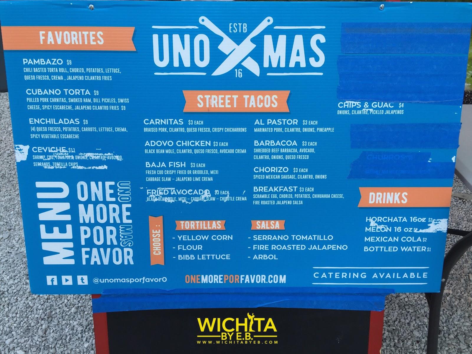 Food Truck: Uno Mas Review – Wichita By E.B.