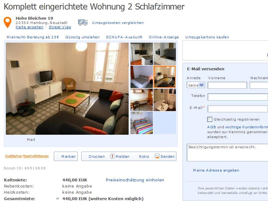 komplett eingerichtete wohnung 2. Black Bedroom Furniture Sets. Home Design Ideas