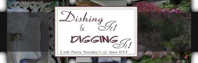Link Party for Bloggers with home decor, recipes, gardening, tablescapes or craft blog posts.