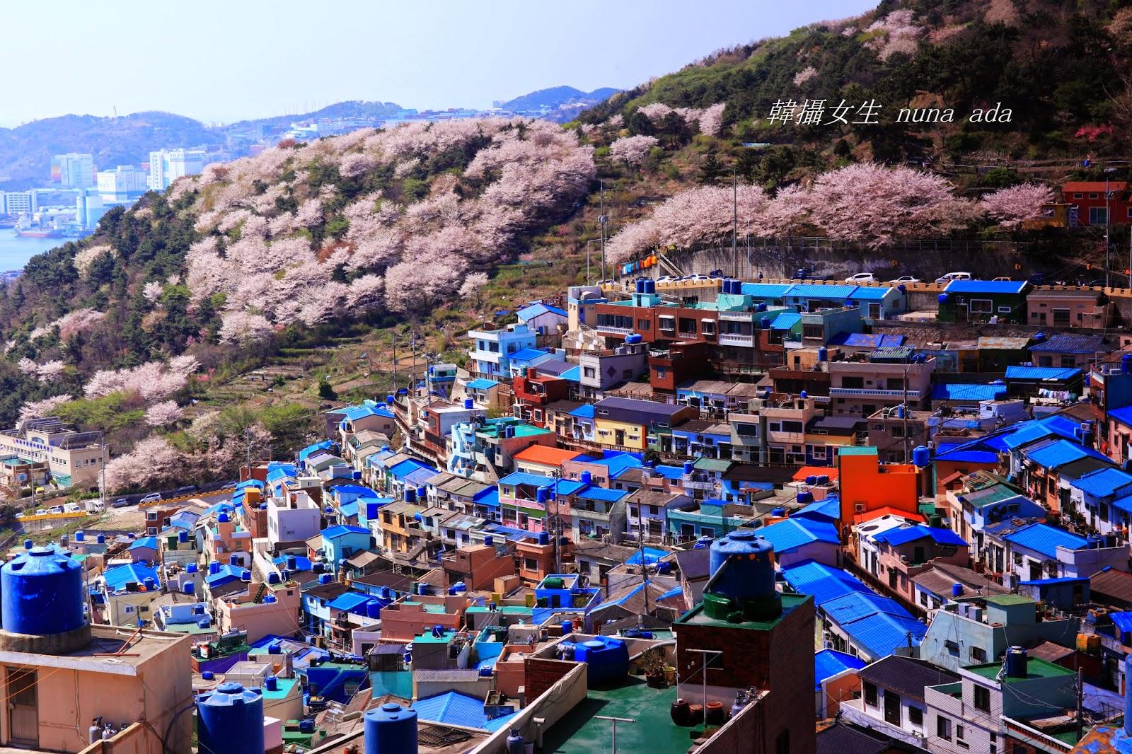 ** 韓攝女生~四季樂遊誌 : 釜山小旅行 (五):甘川洞文化村